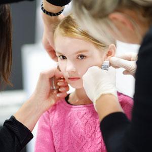 Kid S Ear Piercings Kids Fun Cuts